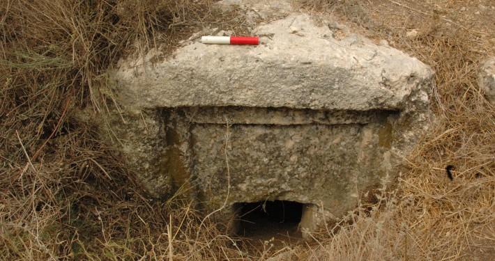 Eingang zur Grabkammer 7