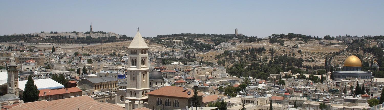 Blick über die Altstadt Jerusalems (photographiert von D. Kessi).