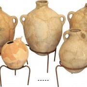 Restaurierte Keramik aus Areal S